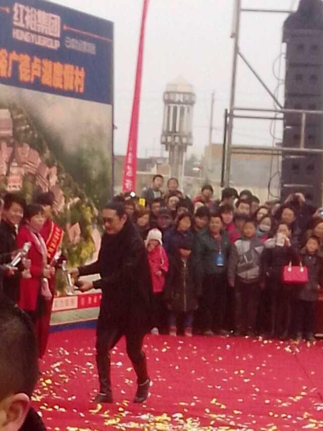 黄安出席天水建材商城招商发布会表演嘉宾